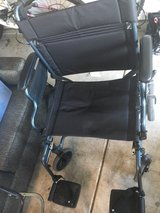 Nova Lightweight Transfer Wheelchair with Hand Brakes & Swing Away footrests in Orland Park, Illinois