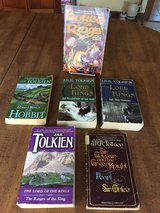 Tolkien: Hobbit, Lord of the Rings Trilogy, Sir Gawain, AND Bored of the Rings: 6 Books in Cherry Point, North Carolina