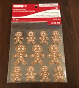 Gingerbread Men Stickers in Yorkville, Illinois