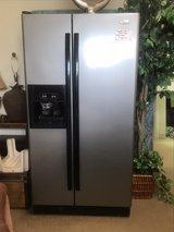 stainless steel and black fridge in Alamogordo, New Mexico