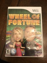 Wheel of Fortune Wii Game in Plainfield, Illinois