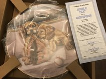 Reduced: Double Play Collectors Plate in Chicago, Illinois