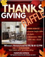 Dining Table Raffle in Beaufort, South Carolina