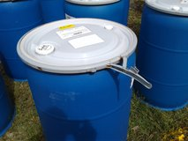 55 Gallon Plastic Drums with Seal Tight Lids in Byron, Georgia