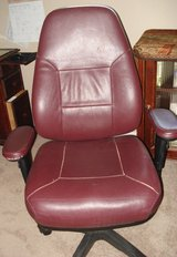 Leather desk chair in Alamogordo, New Mexico