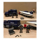 Playmobil Police Truck with Speedboat in Lawton, Oklahoma