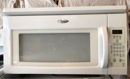 Whirlpool microwave, works perfectly in Oswego, Illinois