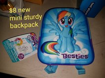 My little pony mini backpack *new* in Vacaville, California