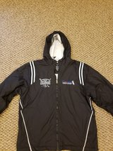Mens White Sox jacket size L in Lockport, Illinois