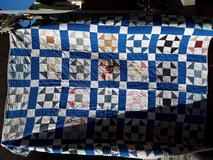 Vintage quilt not tattered in Fort Knox, Kentucky