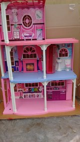 Barbie Dream House with furniture and elevator in Fairfield, California