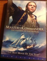 Master And Commander The Far Side of the World DVD Russell Crowe in Fort Riley, Kansas