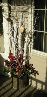 Decorative Birch Branches &  Logs in St. Charles, Illinois