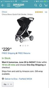 Chicco Bravo Stroller in Fairfield, California