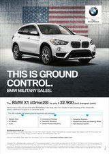 MASSIVE DISCOUNT - $8.350 – 2018 BMW  X1 in Spangdahlem, Germany