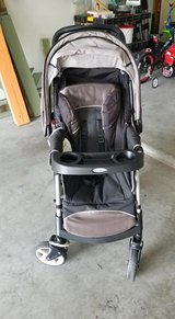 Graco Stroller Grey and black in Beaufort, South Carolina
