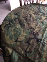 PONCHO WET WEATHER LINER WITH A FEW SMALL HOLES in Ramstein, Germany