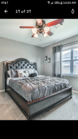 King Size Bed Frame (NO MATTRESS) in Spring, Texas