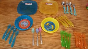 Plates, Bowl and spoons in Tinley Park, Illinois