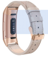 Fitbit Charge 3 & Charge 3 SE, Genuine Leather Band in Clarksville, Tennessee