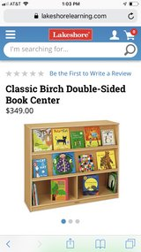 Lakeshore Learning Classic Birch Double-sided Book Center in Lockport, Illinois