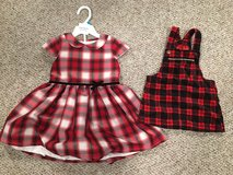 Baby girl holiday dresses! in Yorkville, Illinois