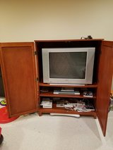 TV and TV Stand in Naperville, Illinois