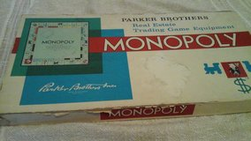 Vintage 1960's  Monopoly Game in Aurora, Illinois