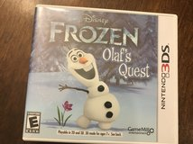 Reduced: Frozen Olaf's Quest Nintendo 3DS in Plainfield, Illinois