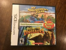 Reduced:Amusement Park & Dinosaur Nintendo DS Game in Naperville, Illinois
