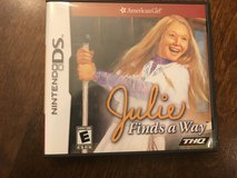 Reduced: American Girl Julie Finds a Way Nintendo DS Game in Plainfield, Illinois