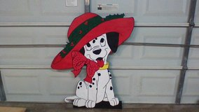 Dalmation with big hat in Kingwood, Texas