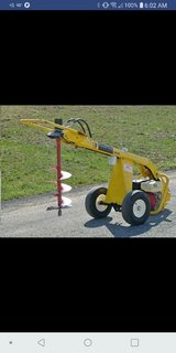 The groundhog auger will make digging holes extremely quick and easy!! in Leesville, Louisiana