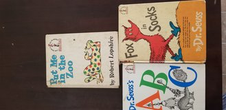 Old used dr. Seuess and more in 29 Palms, California