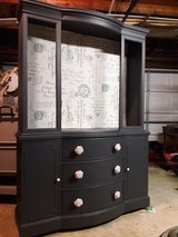 Furniture /Antique China cabinet painted in Tinley Park, Illinois