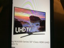 "Samsung Smart TV 50"" 3 Months Old! in Beaufort, South Carolina"