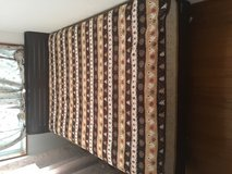 Queen size bed with mattress( hard mattress) without sheet in Okinawa, Japan