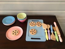 Wooden and Melamine Baking Play Set - 19 Pastel Pieces in Westmont, Illinois