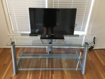 Glass TV stand in Lawton, Oklahoma