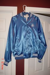 Mens Blue Starter Jacket Size L in Lockport, Illinois