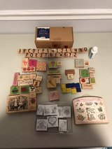 Rubber stamps/scrapbooking stamps in Macon, Georgia