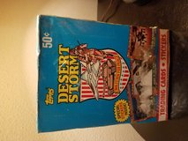 TOPPS 1991 DESERT STORM TRADING CARDS/STICKERS in Fort Carson, Colorado