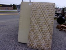Twin Size Mattress and Box Springs in Fort Riley, Kansas