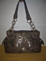 Cowgirl Trendy Western Double pistol Camouflage Purse Shoulder Bag in Moody AFB, Georgia