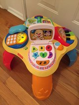 Fisher Price Learning Table in Byron, Georgia