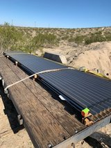 cold rolled corrugated steel panels in Yucca Valley, California