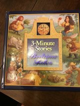 Hard Cover 3 Minute Bedtime Stories in Plainfield, Illinois