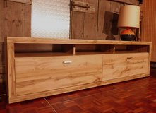 NIB Rustic Oak Beam Style Lowboard Great for a XXL TV. in Ramstein, Germany