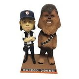 "Astros Star Wars ""Josh Solo Reddick & Chewbacca Bobblehead - Brand New In Box! in Conroe, Texas"
