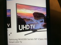 "50"" Samsung Smart TV 3 Months Old! in Beaufort, South Carolina"